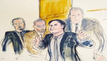 Foto Juez sentencia a Joaquín 'El Chapo' Guzmán a cadena perpetua 17 julio 2019