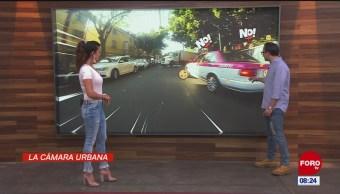 #LaCámaraUrbana en Expreso: Auto en doble fila