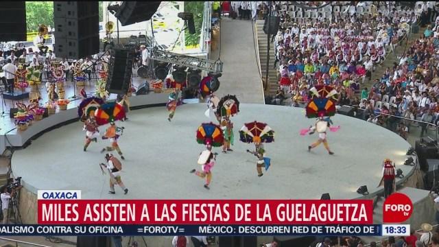 Las fiestas de la Guelaguetza
