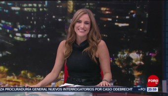 Foto: Las Noticias Danielle Dithurbide Forotv 9 Julio 2019
