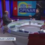 Foto: Leo Zuckermann Entrevista Abogado Emilio Lozoya, Javier Coello Trejo 11 Julio 2019