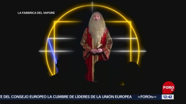 'Leonardo 500', muestra en realidad aumentada, en Milán