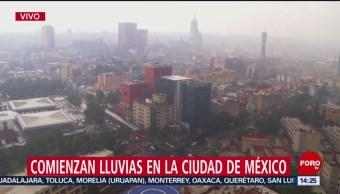 Foto: Lluvia Hoy Jueves Zona Centro Cdmx 25 Julio 2019