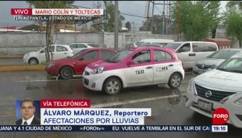 FOTO: Lluvia provoca afectaciones en distintas zonas de la CDMX, 13 Julio 2019