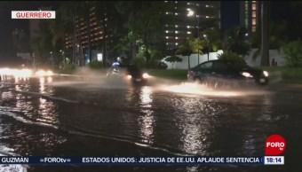 Las lluvias en el estado de Guerrero dejaron severas afectaciones