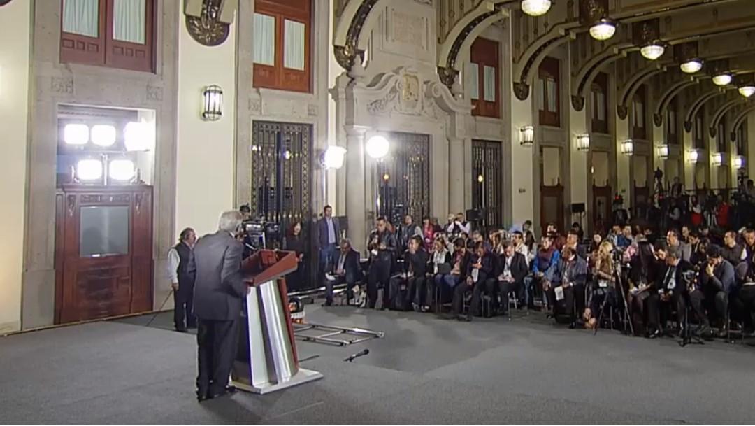Foto: López Obrador responde a periodistas, 24 de julio de 2019, Ciudad de México