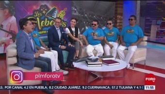 'Los plebeyos' presentan su nuevo álbum en 'Por las Mañanas'