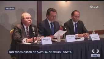 Emilio Lozoya habría obtenido suspensión definitiva a orden de captura