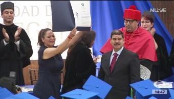 FOTO. Norelia Hernández, mamá del estudiante Norberto Ronquillo, aseguró que las filtraciones no han ayudado en el caso, ni para esclarecer el asesinato de su hijo