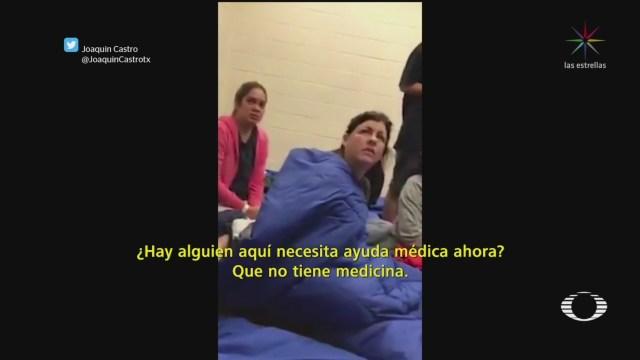 Foto: Manifestantes Eu Cerrar Centros Detención Migrantes 2 Julio 2019
