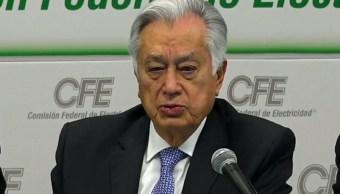 Foto: Manuel Bartlett Díaz, director de la CFE, 2 de julio de 2019, Ciudad de México