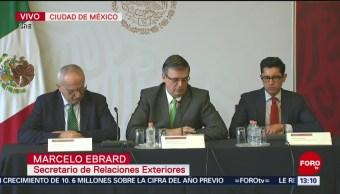 FOTO: Marcelo Ebrard informa sobre protección a mexicanos en EU