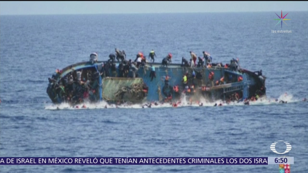 Más de 100 migrantes mueren durante naufragio en Libia