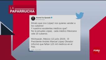 Foto: Médicos Cubanos En México Fox 17 Julio 2019