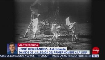 FOTO: México requiere invertir más en proyectos espaciales: José Hernández, 21 Julio 2019