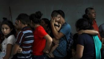Foto: Migrantes centroamericanos a su paso por México, 27 de junio de 2019, Veracruz