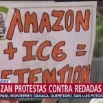 FOTO: Migrantes en Estados Unidos protestan por redadas