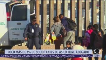 Migrantes no cuentan con apoyo de abogados