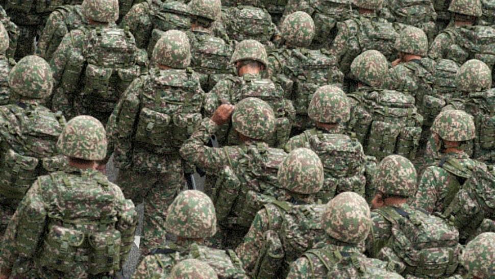 Imagen: El envío de miembros de la Guardia Nacional a la frontera en los estados limítrofes con México se ha repetido en los últimos meses, 17 de julio de 2019 (Getty Images, archivo)