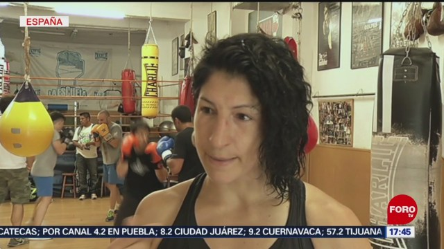 FOTO: Miriam Gutiérrez, de víctima de maltrato a boxeadora