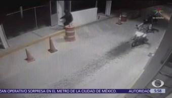 Motociclistas asaltan caseta de cobro en autopista León-Aguascalientes