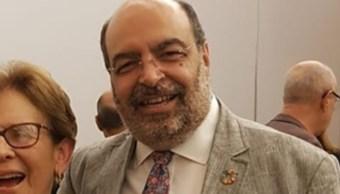 FOTO Muere Carlos Echarri, titular del Consejo Nacional de Población (Facebook)