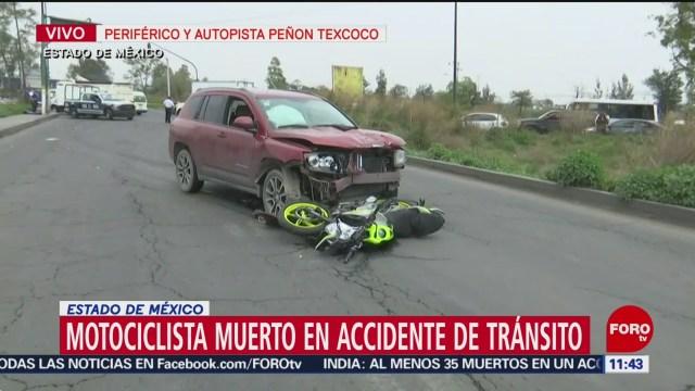 Muere motociclista tras ser atropellado en Nezahualcóyotl, Edomex