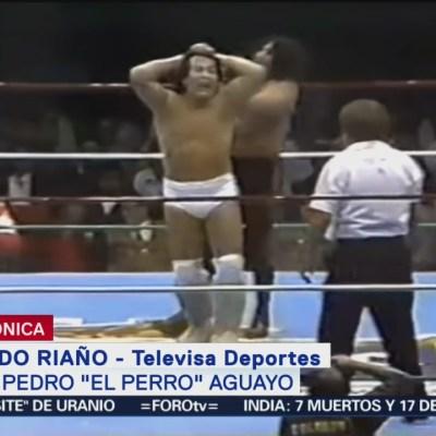 Muere Pedro El Perro Aguayo, leyenda del cuadrilátero