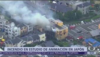 Mueren 24 personas durante incendio en Kioto, Japón