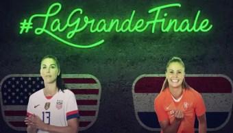 Foto Mundial Femenil 2019 A qué hora se juega la final Holanda vs. Estados Unidos 4 julio 2019