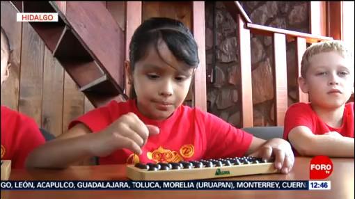 Niños mexicanos ganan competencia de cálculo mental en China