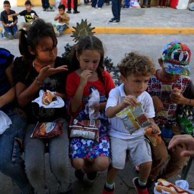 Migración atendió a más de 10 mil niños sin acompañamiento