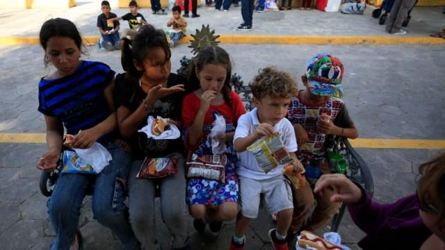 Foto: Niños migrantes en Matamoros, 27 de junio de 2019, Tamaulipas