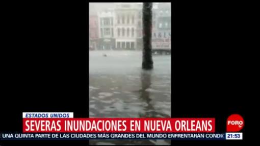 Foto: Nueva Orleans Padece Inundaciones Tormenta 10 Julio 2019