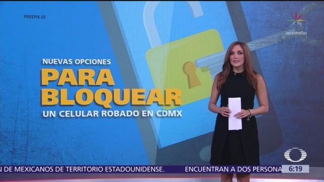 Nuevas opciones para bloquear un celular robado en CDMX