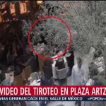 Foto: Nuevo Video Balacera Plaza Artz Pedregal 26 Julio 2019