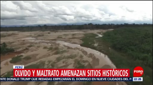 FOTO: Olvido y maltrato amenazan sitios históricos en Perú, 14 Julio 2019