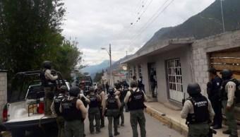 Foto: operativo de seguridad en Veracruz, 28 de junio 2019. Twitter @SP_Veracruz
