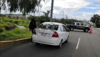 Operativo de seguridad en Querétaro.