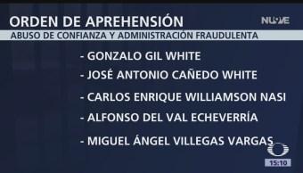 Ordenan detención del hijo de Francisco Gil Díaz, exsecretario de Hacienda