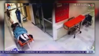 Paciente golpea a personal de hospital en Chiapas