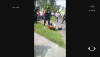 Foto: Padre Asaltante Muerto Ecatepec Llora Hijo R118 Julio 2019