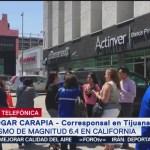 Foto: Palacio municipal de Tijuana fue desalojado por sismo en California