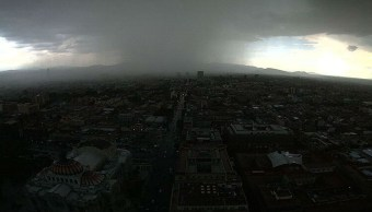 Foto: Las lluvias podrían estar acompañadas de descargas eléctricas.