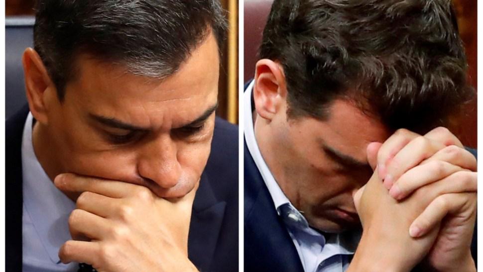 FOTO Pedro Sánchez no obtiene respaldo del Congreso para gobernar España