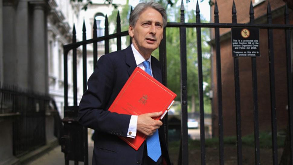 Imagen: Hammond, ha sido siempre crítico sobre la posibilidad de que el Reino Unido salga de la Unión Europea sin pacto alguno, 21 de julio de 2019 (Getty Images, archivo)