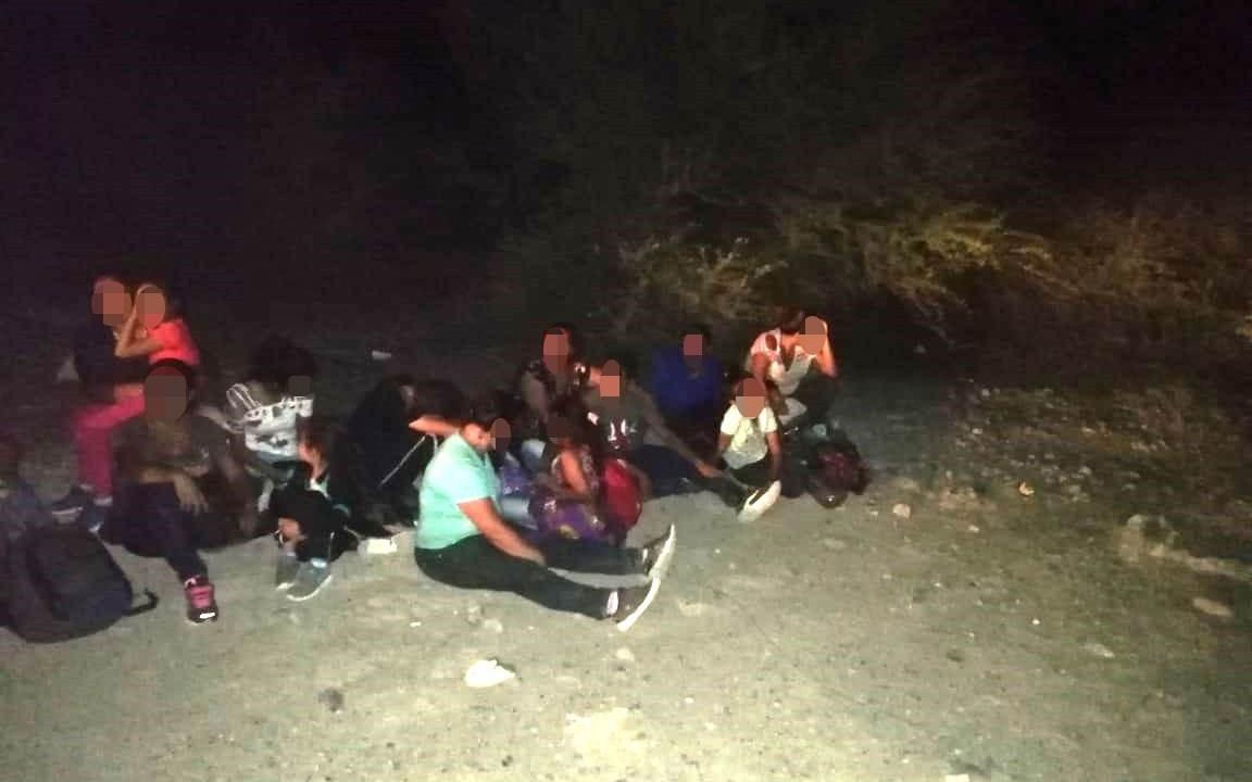 Foto: Los migrantes fueron puestos a disposición del INAMI, 11 se julio de 2019. (SSP de Tamaulipas)