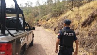 Foto: Operativo de seguridad en Guanajuato, 29 de mayo 2019. Twitter @GtoSeguridad