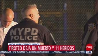 FOTO: Policía de Nueva York busca a dos sospechosos de un tiroteo, 28 Julio 2019