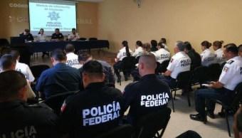 aulas de la Policía Federal